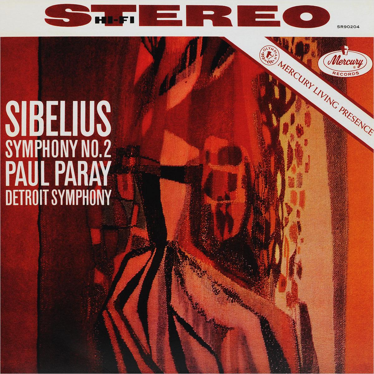 Паул Парей,Ян Сибелиус,Detroit Symphony Orchestra Paul Paray. Sibelius. Symphony No.2 (LP) dave hamilton s detroit dancers lp