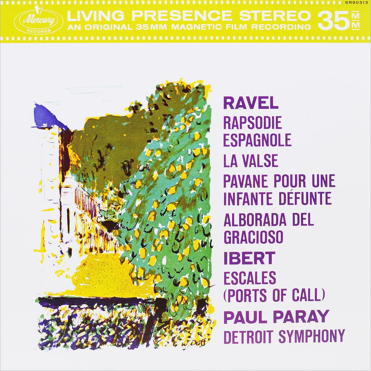 Паул Парей,Detroit Symphony Orchestra Paul Paray. Ravel, Ibert (LP) dave hamilton s detroit dancers lp