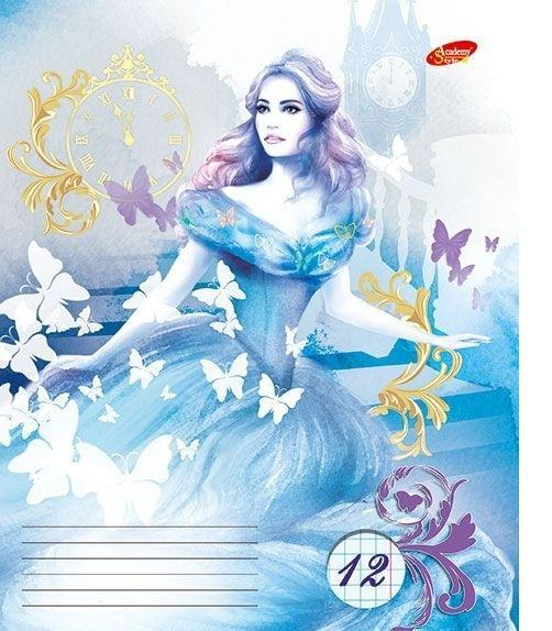 Academy Style Набор тетрадей в линейку Cinderella, 12 листов, формат А5, 10 шт m style табурет cinderella