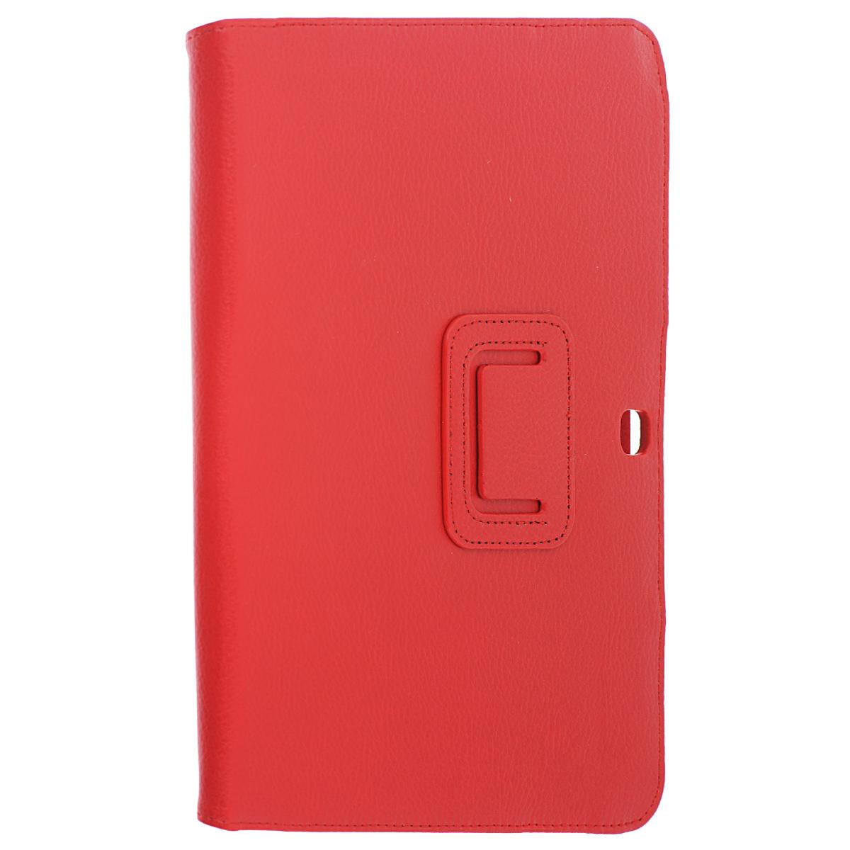 IT Baggage чехол для Samsung Galaxy Tab 4 10.1, Red цена и фото