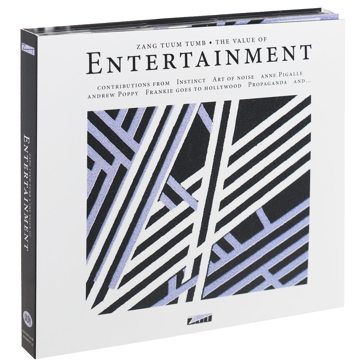The Value of Entertainment (CD + DVD) cd art of noise in visible silence deluxe