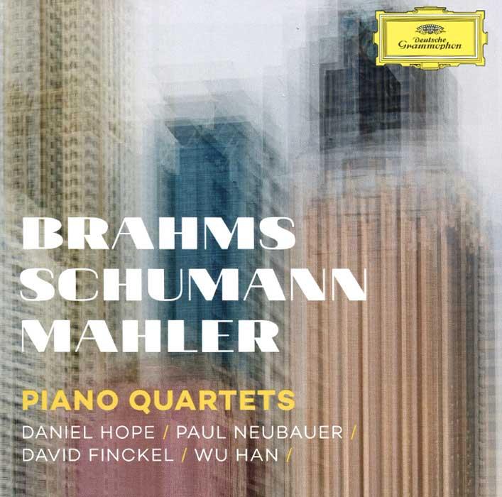 Даниэль Хоуп,Paul Neubauer,Дэвид Финкэл,Wu Han Brahms, Schumann, Mahler. Piano Quartets николай петров nikolai petrov plays brahms schumann