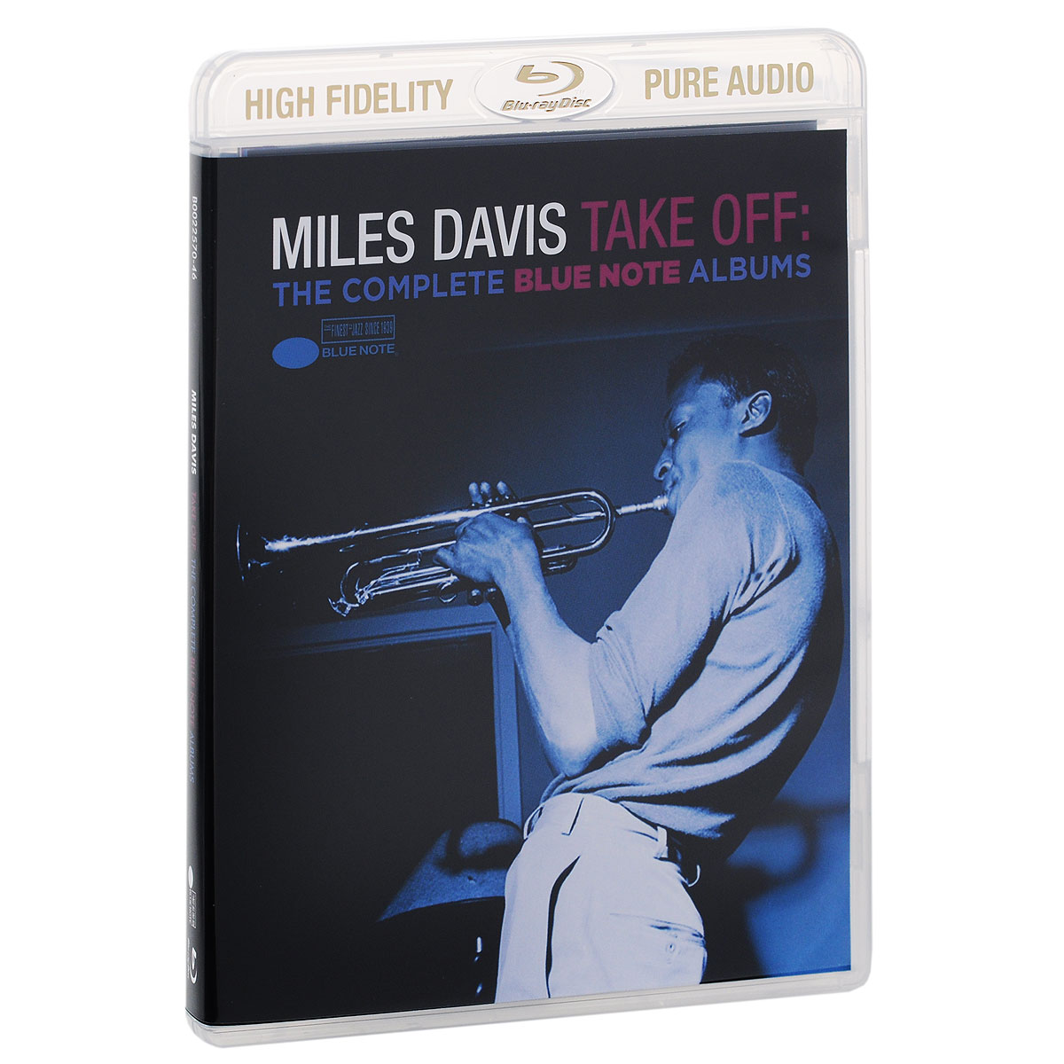 Майлз Дэвис Miles Davis. Take Off. The Complete Blue Note Albums (Blu-ray Audio) prague sinfonia кристиан бенда rossini complete overtures 2 blu ray audio