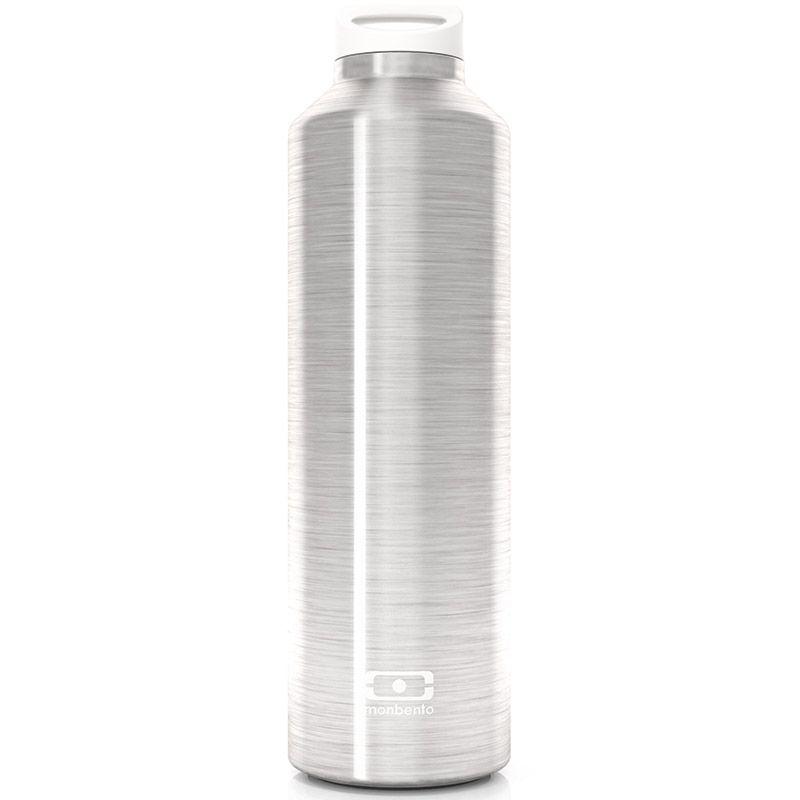 Бутылка Monbento Steel, цвет: серебристый, 0,5 л