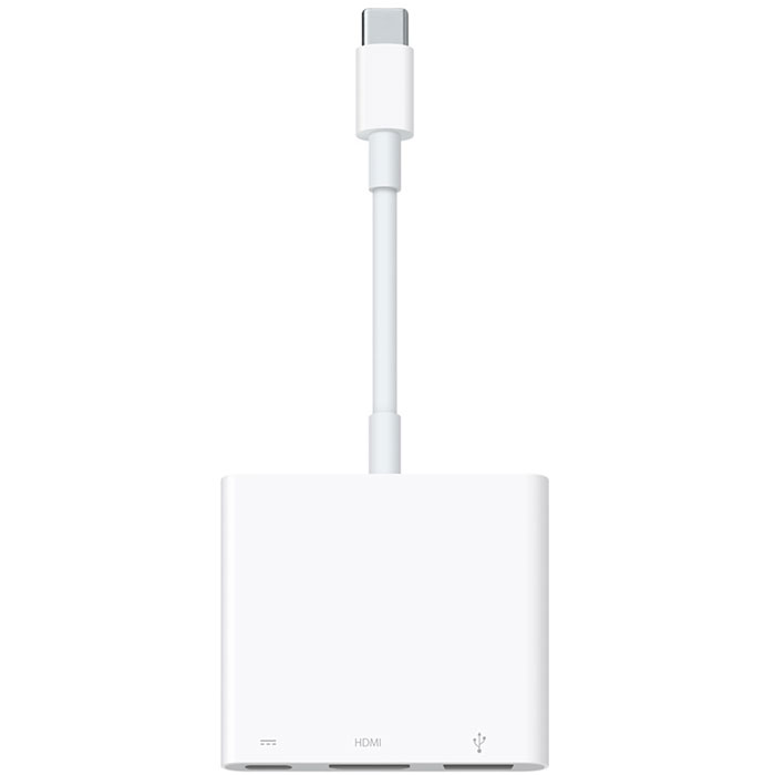 Apple USB-C AV Multiport адаптер (MJ1K2ZM/A) адаптер apple usb c digital av multiport adapter mj1k2zm a