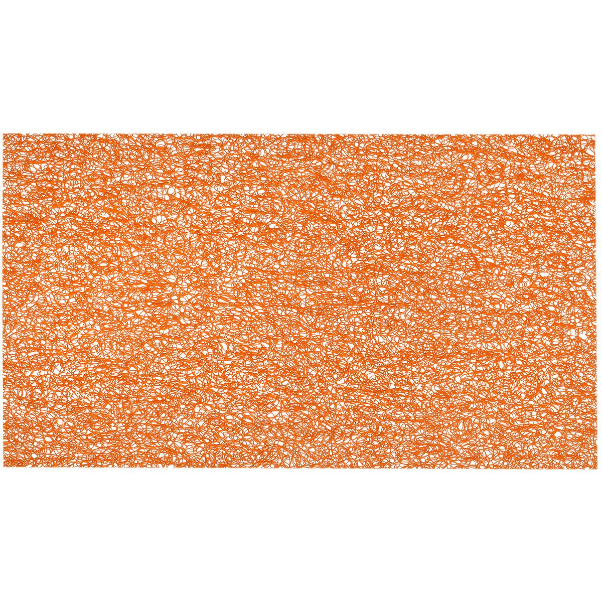 Подставка под горячее Hans & Gretchen, цвет: оранжевый, 45 х 30 см. 28HZ-9024 подставка под горячее togas андре цвет синий серый 45 х 33 см