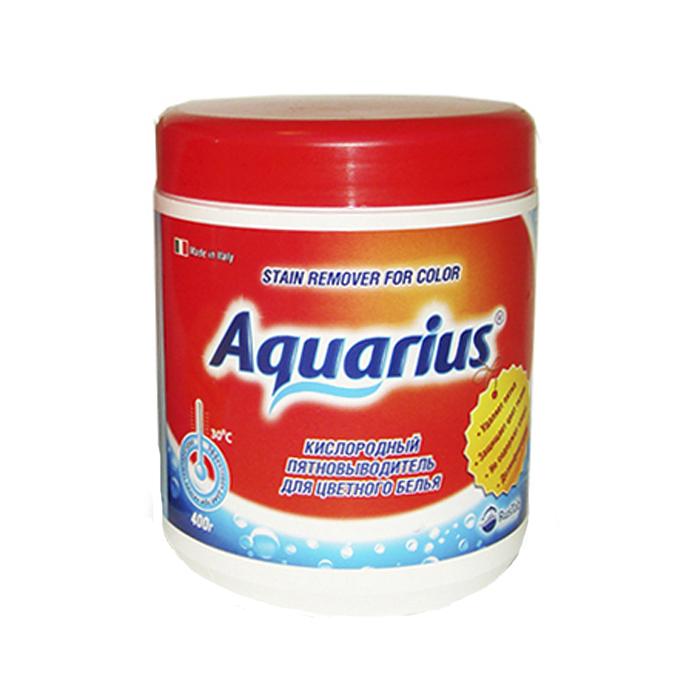 Пятновыводитель для цветного белья Lotta Aquarius, кислородный, 400 г пятновыводитель для цветного белья lotta oxi кислородный 400 г