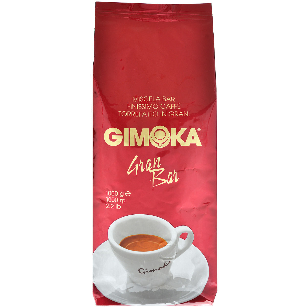 Gimoka Rossa Gran Bar кофе в зернах, 1 кг lavazza grande ristorazione rossa кофе в зернах 1 кг