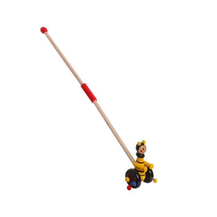 Игрушка-каталка Bondibon Пчелка каталки bondibon игрушка деревянная каталка с ручкой пингвин bondibon