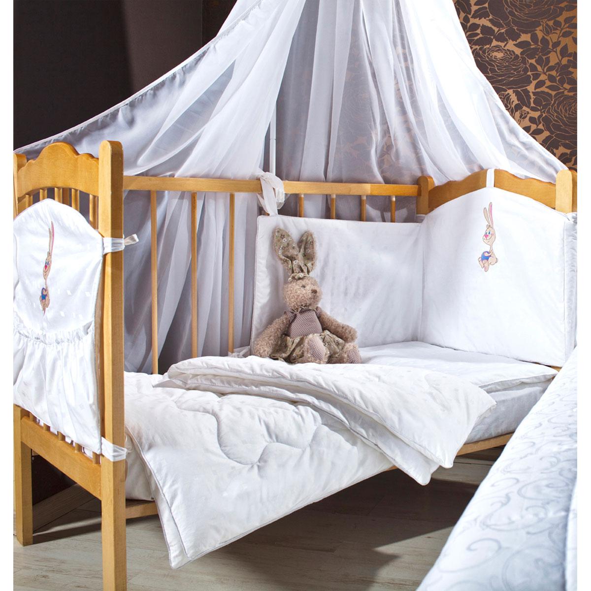 """Комплект в кроватку Primavelle """"Lovely"""", цвет: голубой, 5 предметов"""