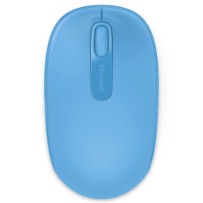 Фото - Мышь Microsoft Wireless Mobile Mouse 1850, Cyan Blue (U7Z-00058) мышь microsoft wireless mobile mouse 1850 cyan blue u7z 00058