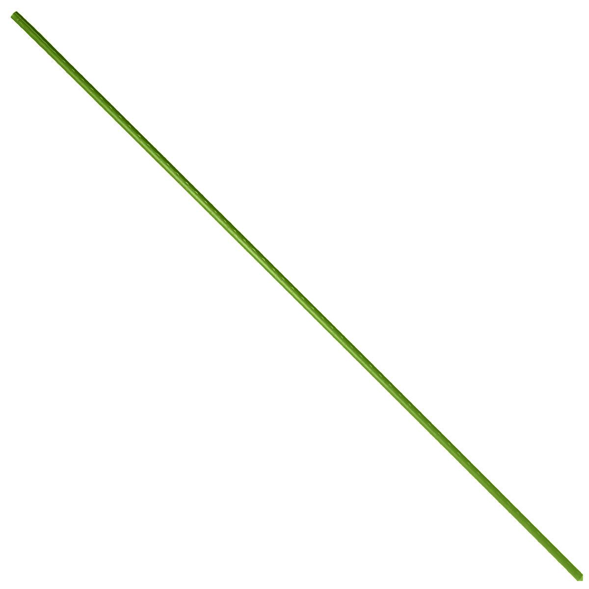 Опора для растений Green Apple, цвет: зеленый, диаметр 0,8 см, длина 90 см, 5 шт опора для растений green apple бамбуковая диаметр 1 см длина 75 см 5 шт