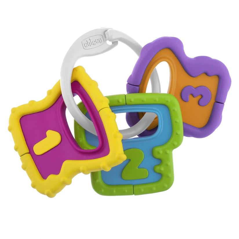 Chicco Игрушка-погремушка Ключики chicco игрушка погремушка ключики