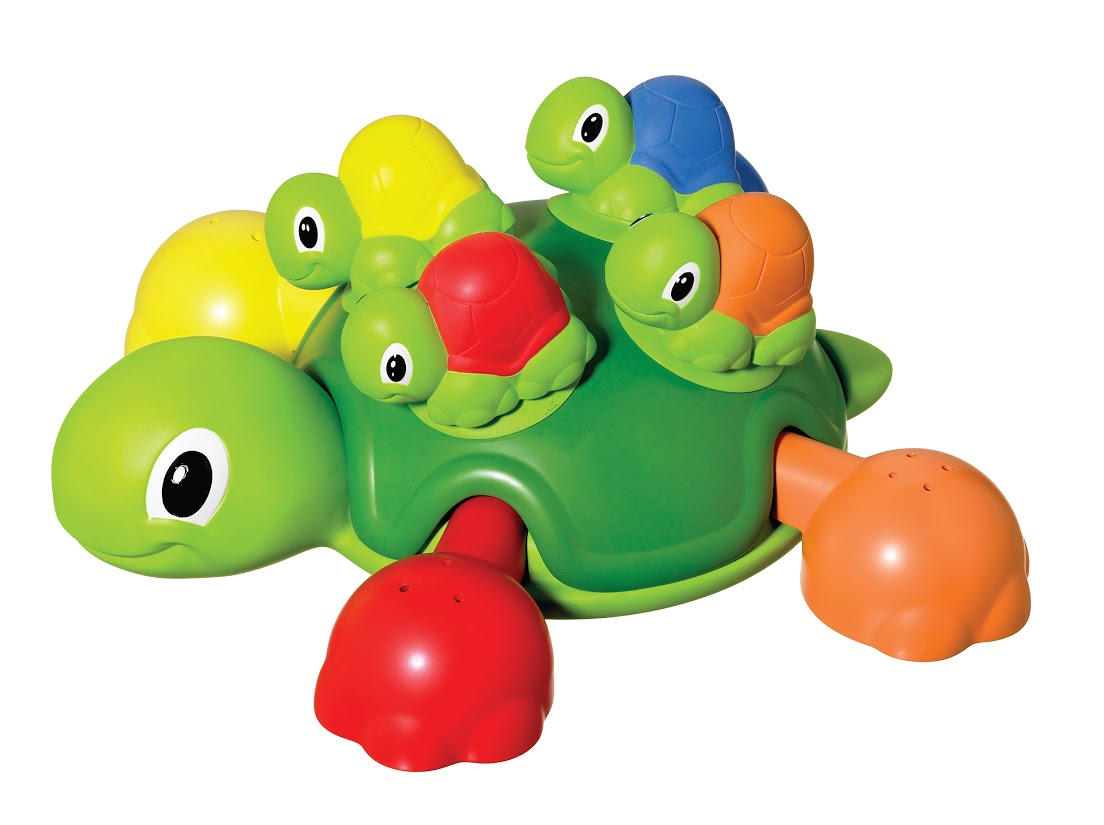 Tomy Игрушка для ванной Веселые черепашки игрушка для ванной tomy водный дракон то72356