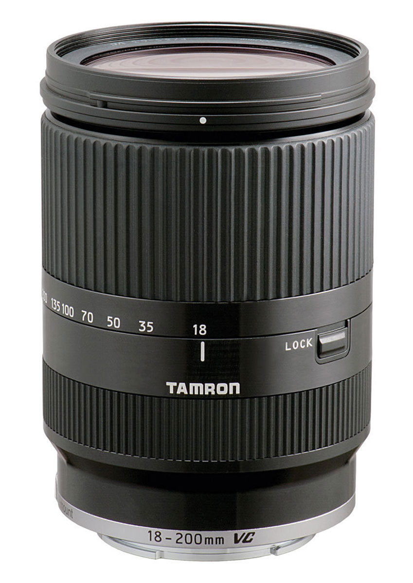 Tamron 18-200mm F3.5-6.3 Di III VC, Black объектив для Sony NEX