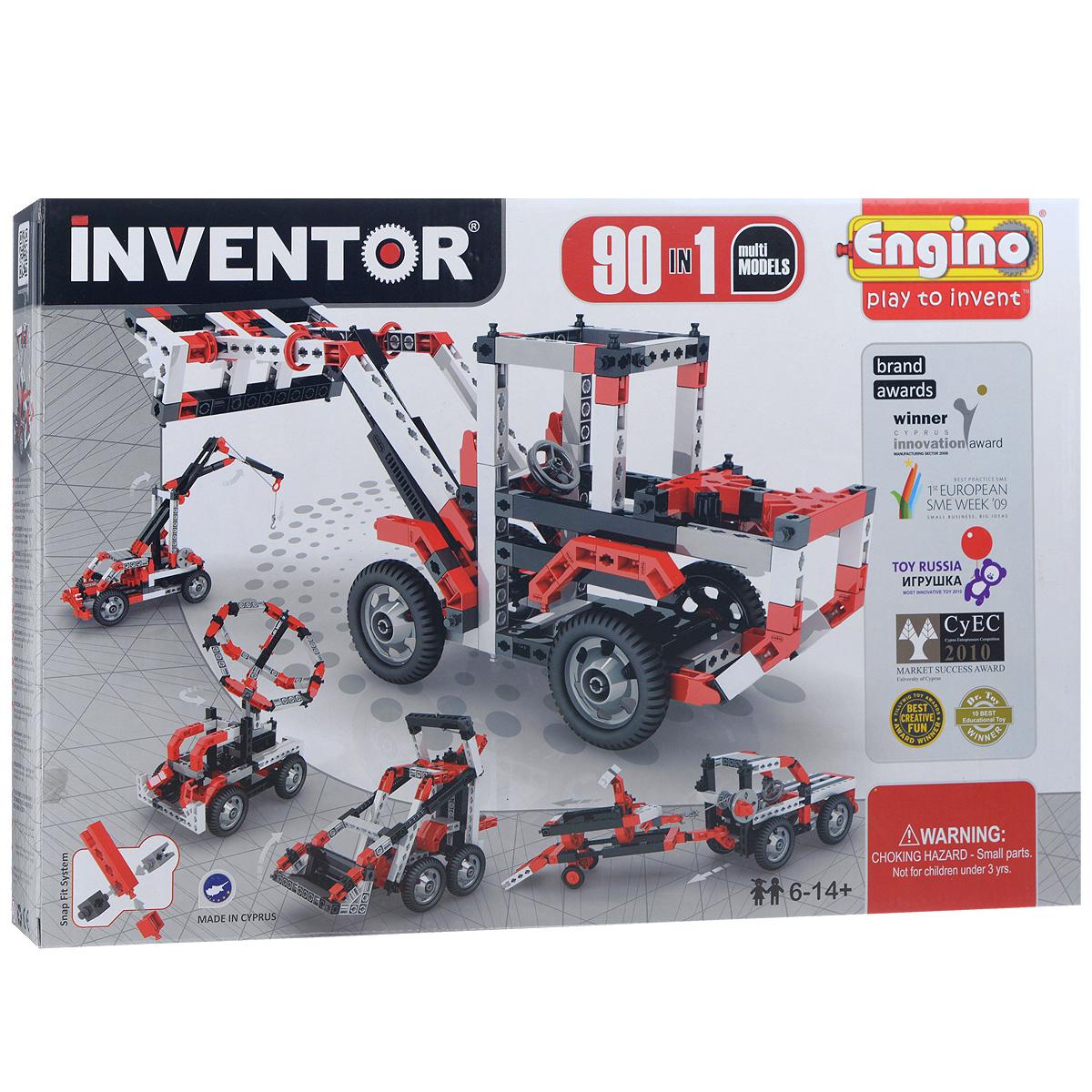 Пластиковый конструктор Engino 9030 конструктор engino inventor special edition 9030 90 моделей с двигателем