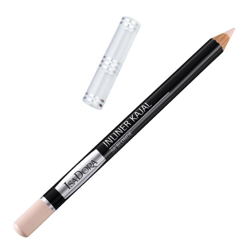 Контурный карандаш для глаз Isa Dora Inliner Kajal, тон №56, цвет: блонд, 1,3 г контурный карандаш для глаз isa dora perfect contour kajal тон 66 цвет темно синий 1 2 г