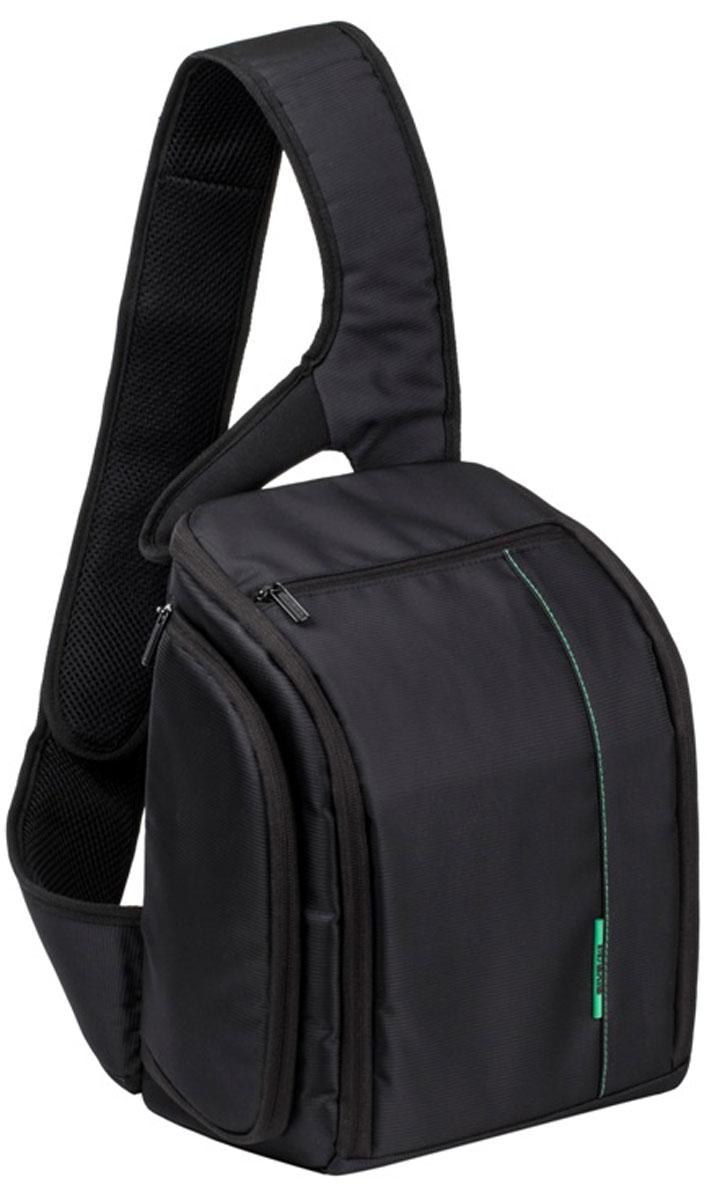 RIVACASE 7470 SLR Sling Case, Black рюкзак для зеркальной фотокамеры цены