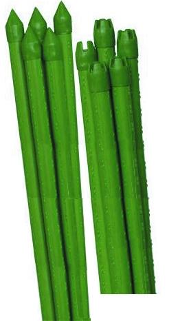 Опора для растений Green Apple Бамбук, цвет: зеленый, диаметр 0,8 см, длина 90 см, 5 шт чехол для садовых растений green apple 100х50см
