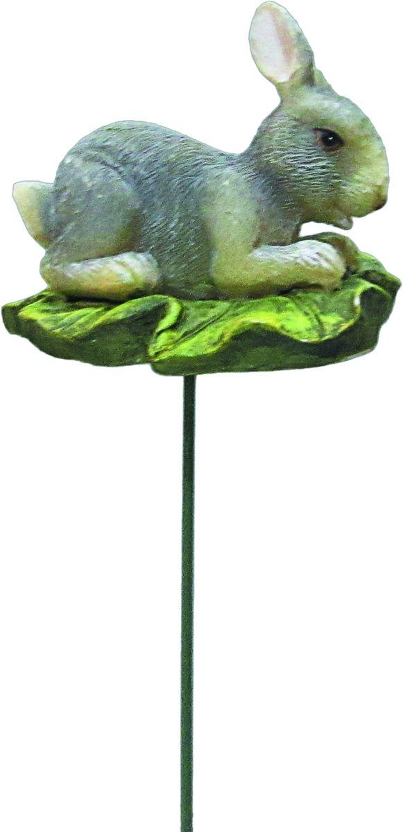 Штекер декоративный Green Apple Заяц, для цветочного горшка, высота 25 см фонтан декоративный green apple настроение настольный высота 22 см