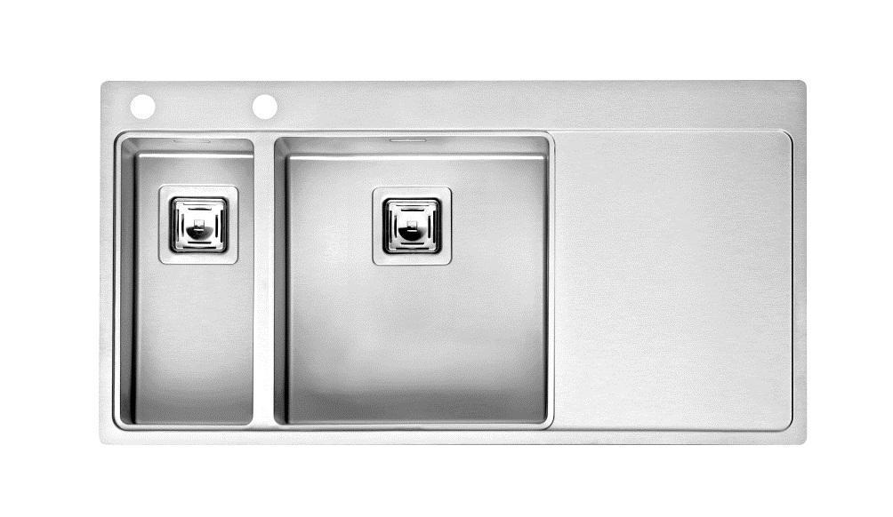 Мойка кухонная REGINOX Nevada 18x40 LUX OKG left(c/box) L
