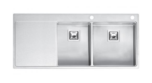 Мойка кухонная REGINOX Nevada 30x40 LUX OKG right (c/box) L