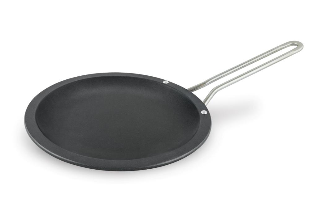 Сковорода 30 ПР литая блинная (полимер-керам.) металлическая ручка Нева Металл Посуда(10) стоимость