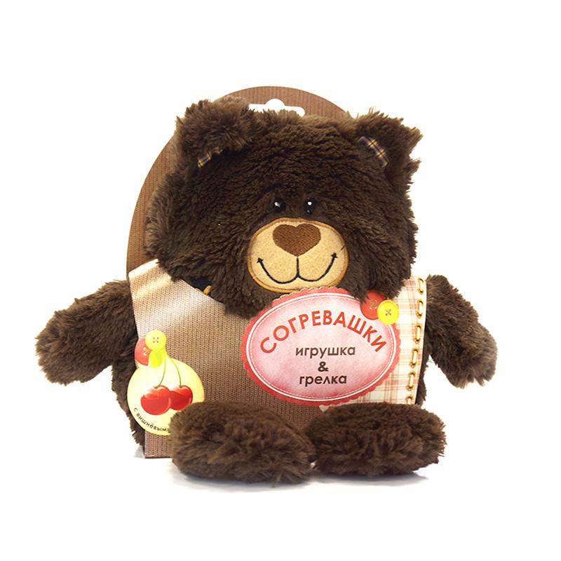 Maxi Toys Грелка-Игрушка Медвежонок 19 см