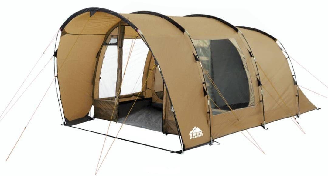 """Палатка четырехместная TREK PLANET """"Calgary 4"""", цвет: песочный"""