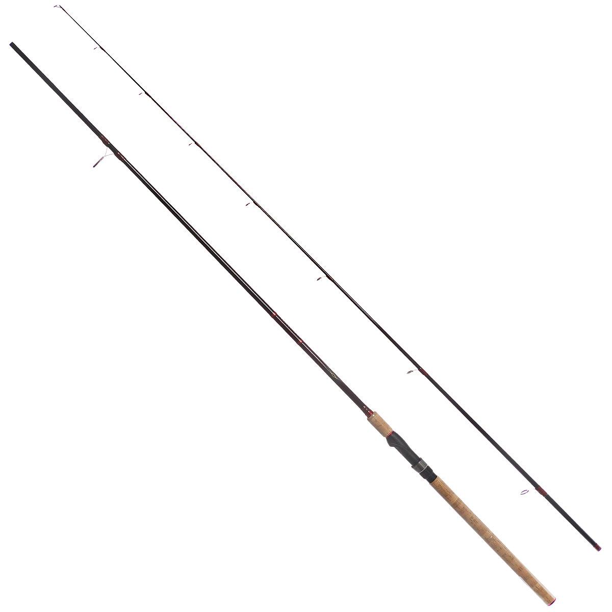 Удилище спиннинговое Daiwa Vulcan-AR, штекерное, цвет: черный, 2,74 м, 10-40 г
