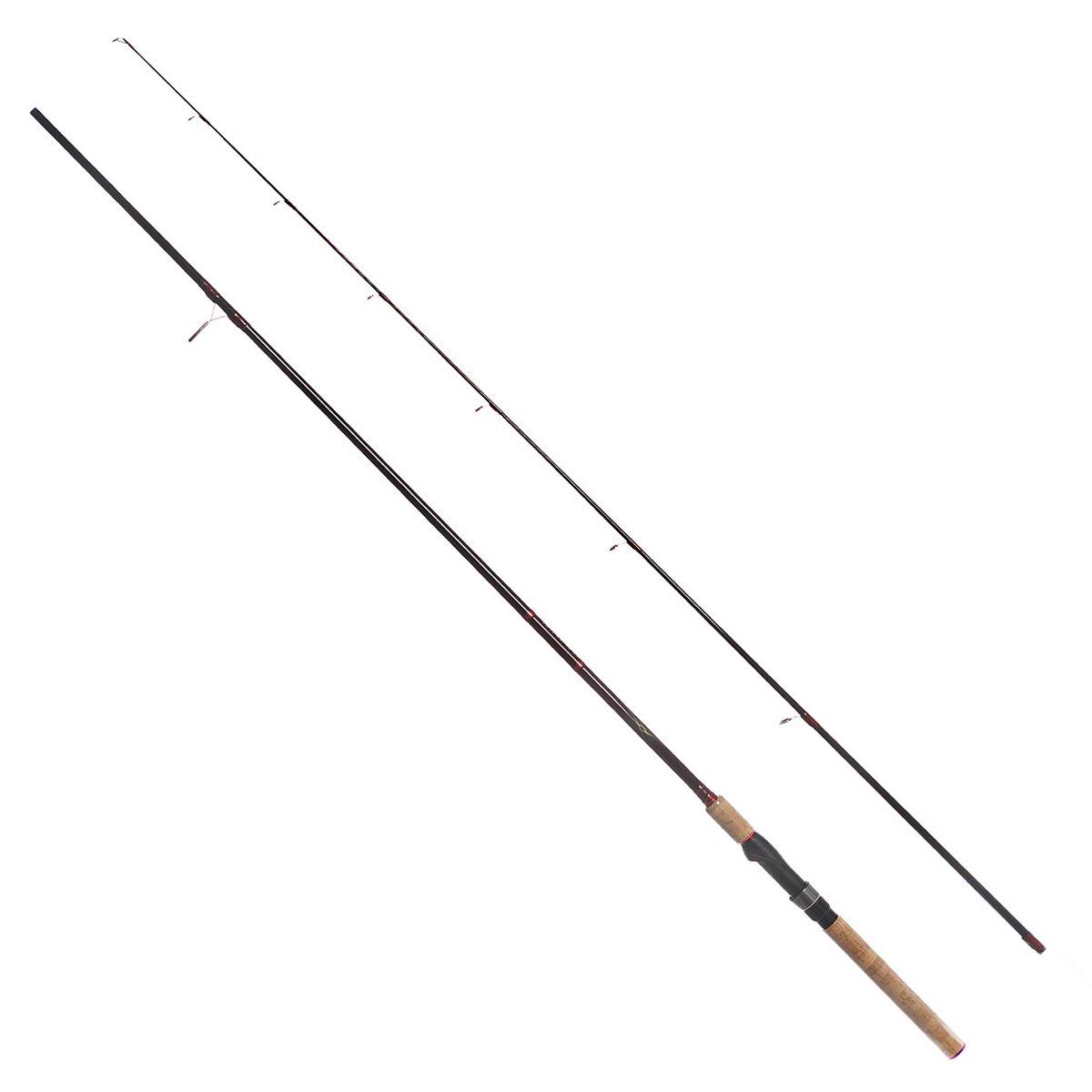 Удилище спиннинговое Daiwa Vulcan-AR, штекерное, цвет: черный, 2,59 м, 10-40 г