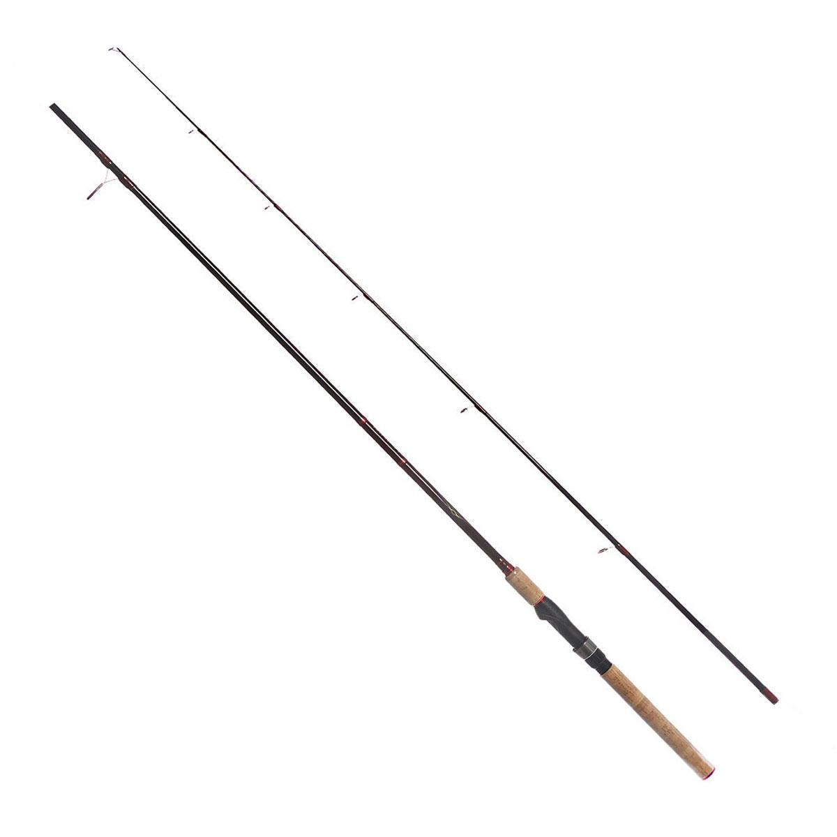 Удилище спиннинговое Daiwa Vulcan-AR, штекерное, цвет: черный, 2,13 м, 3,5-12 г