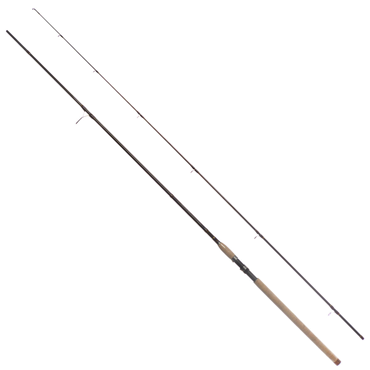 Удилище спиннинговое Daiwa New Exceler, штекерное, цвет: темно-коричневый, 2,7 м, 20-60 г
