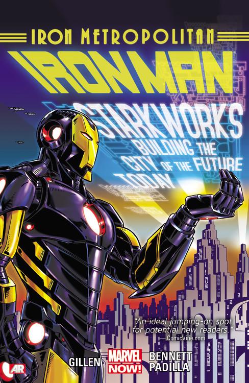 Gillen, Kieron. Iron Man Volume 4