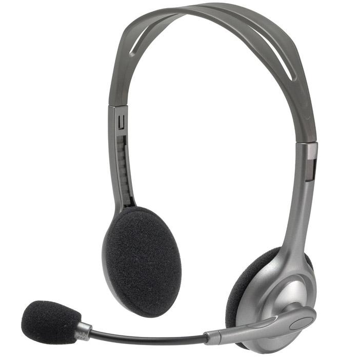 Компьютерная гарнитура Logitech H110 Stereo Headset (981-000271) стоимость