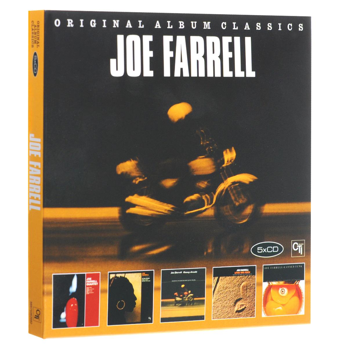 Джо Фарелл Joe Farrell. Original Album Classics (5 CD) джо сатриани joe satriani original album classics 5 cd