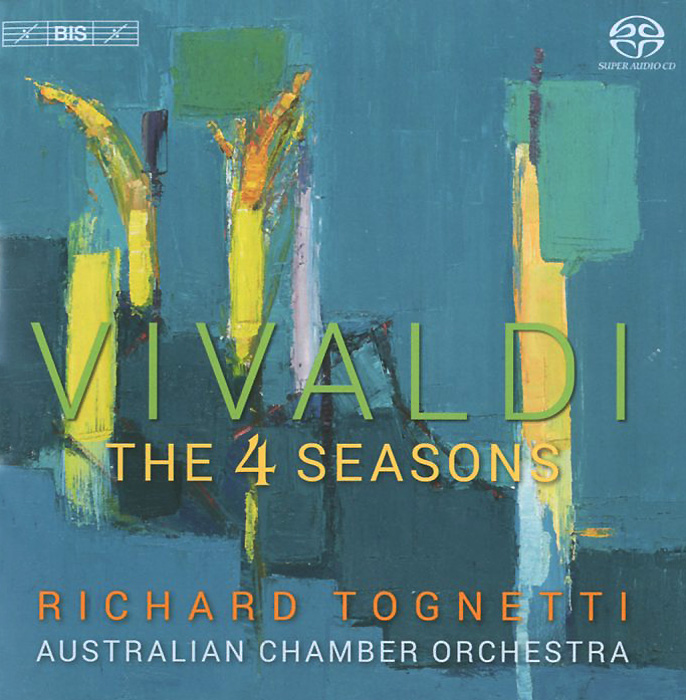 Ричард Тогнетти,Australian Chamber Orchestra Richard Tognetti. Australian Chamber Orchestra. Vivaldi. The Four Seasons (SACD) vivaldi vivalditrevor pinnock the four seasons