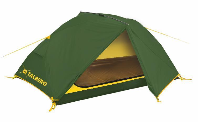 """Палатка Talberg """"BORNEO 2"""", цвет: зеленый"""