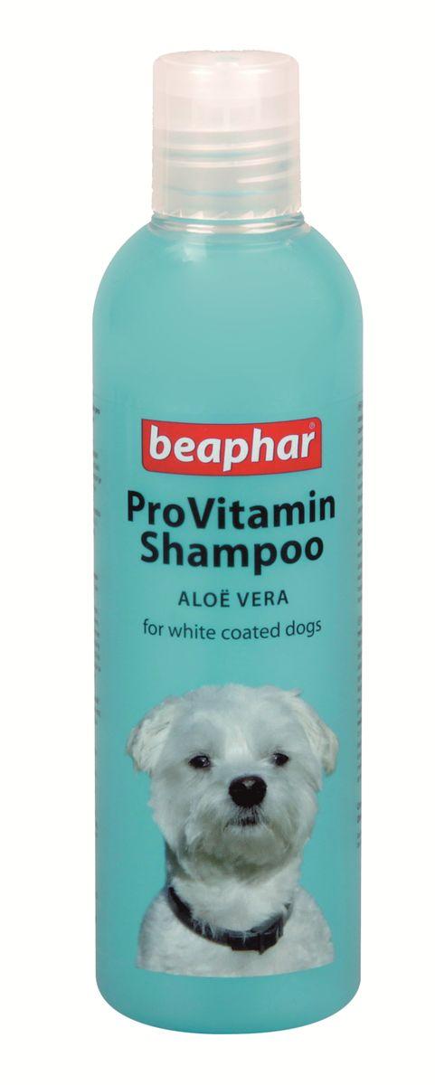 Шампунь для собак белых окрасов Beaphar Pro Vitamin, 250 мл beaphar шампунь beaphar pro vitamin для собак универсальный 250 мл