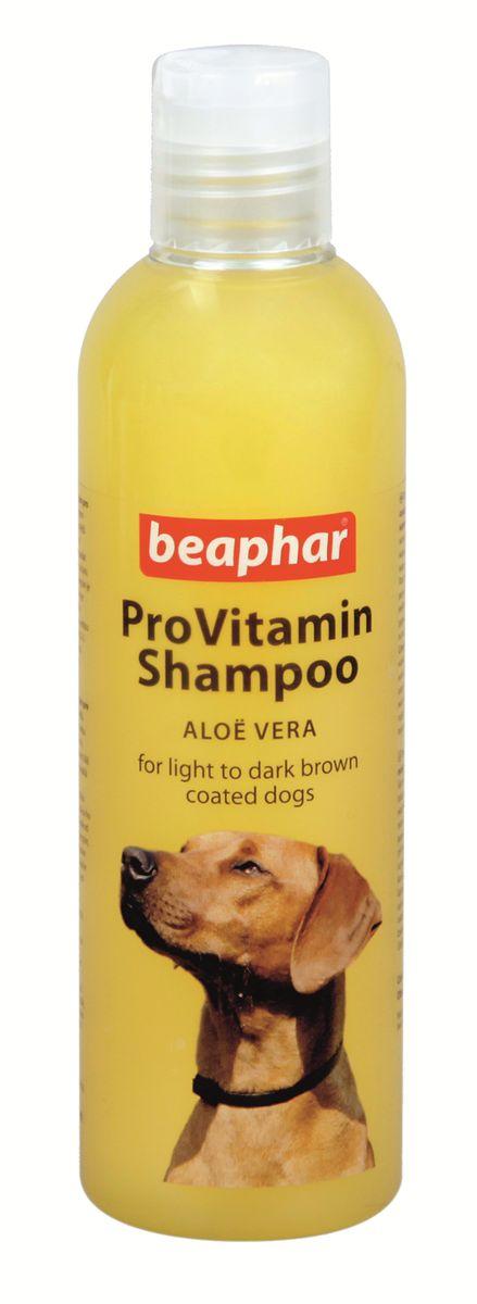Шампунь для собак коричневых окрасов Beaphar Pro Vitamin, 250 мл beaphar шампунь beaphar pro vitamin для собак универсальный 250 мл