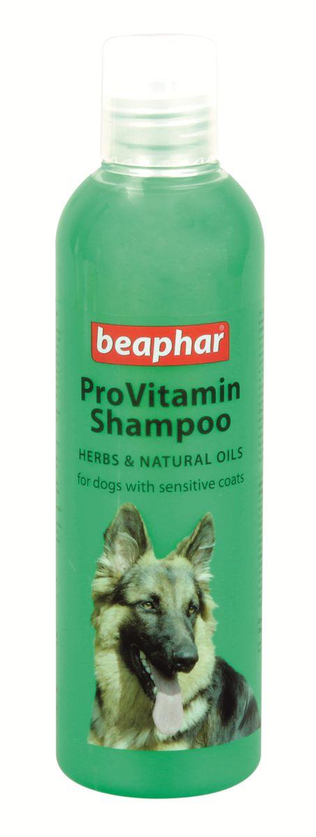 Шампунь для собак с чувствительной кожей Beaphar Pro Vitamin, 250 мл beaphar шампунь beaphar pro vitamin для собак универсальный 250 мл