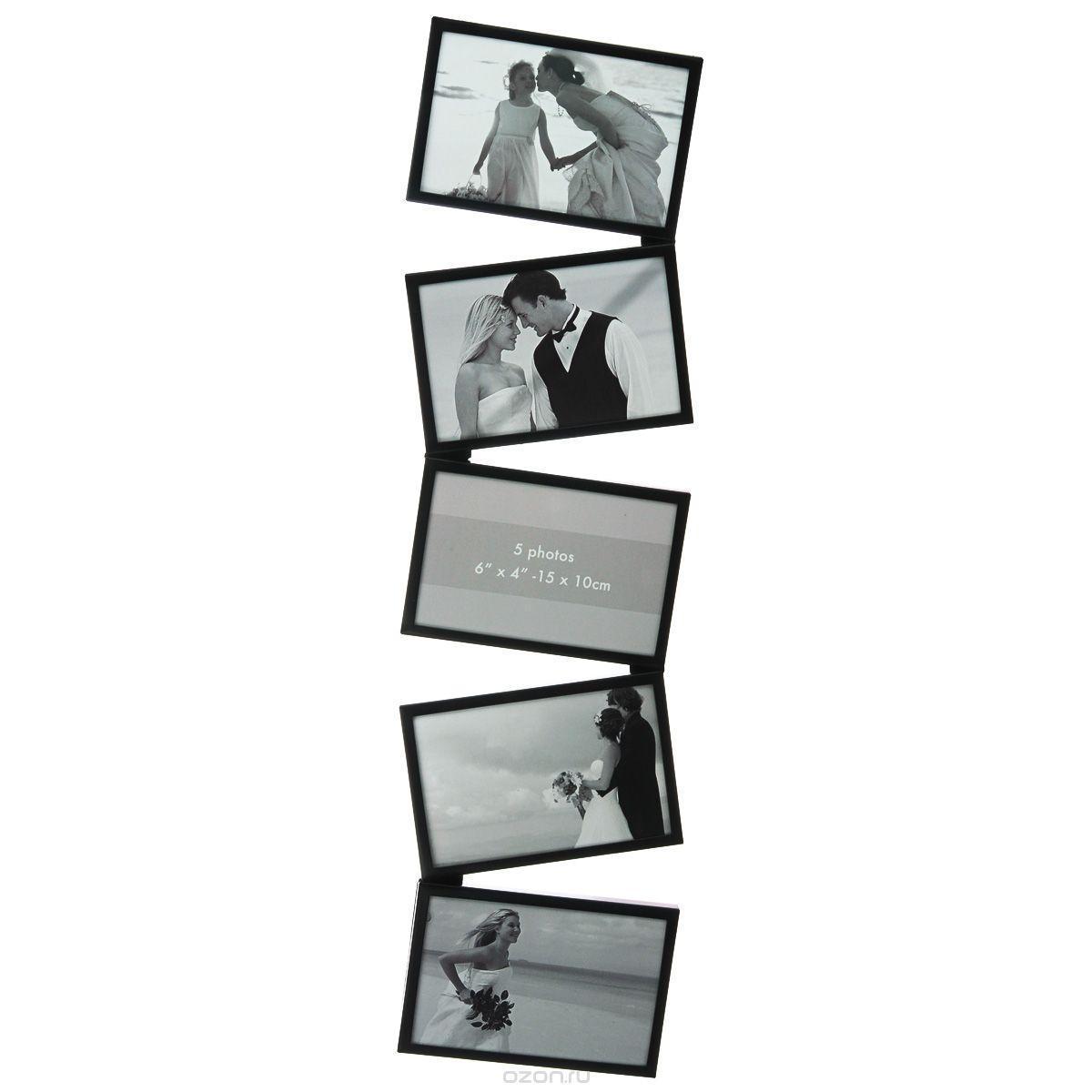 Фоторамка Image Art 6045/5-4B фоторамка image art 6015 4pк выгнутая 10 15