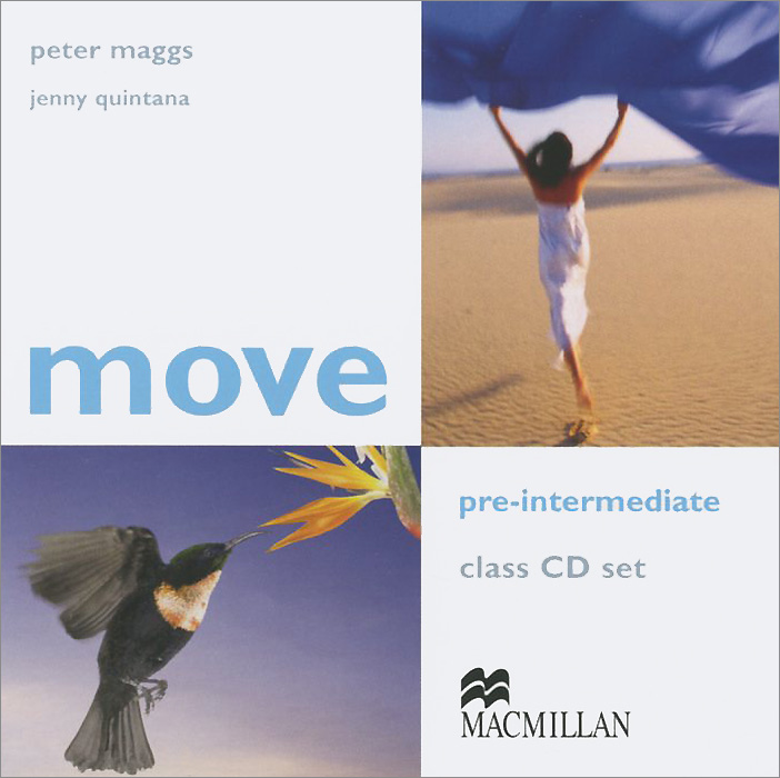 Move: Pre-Intermediate: Class CDs (аудиокурс на 2 CD)