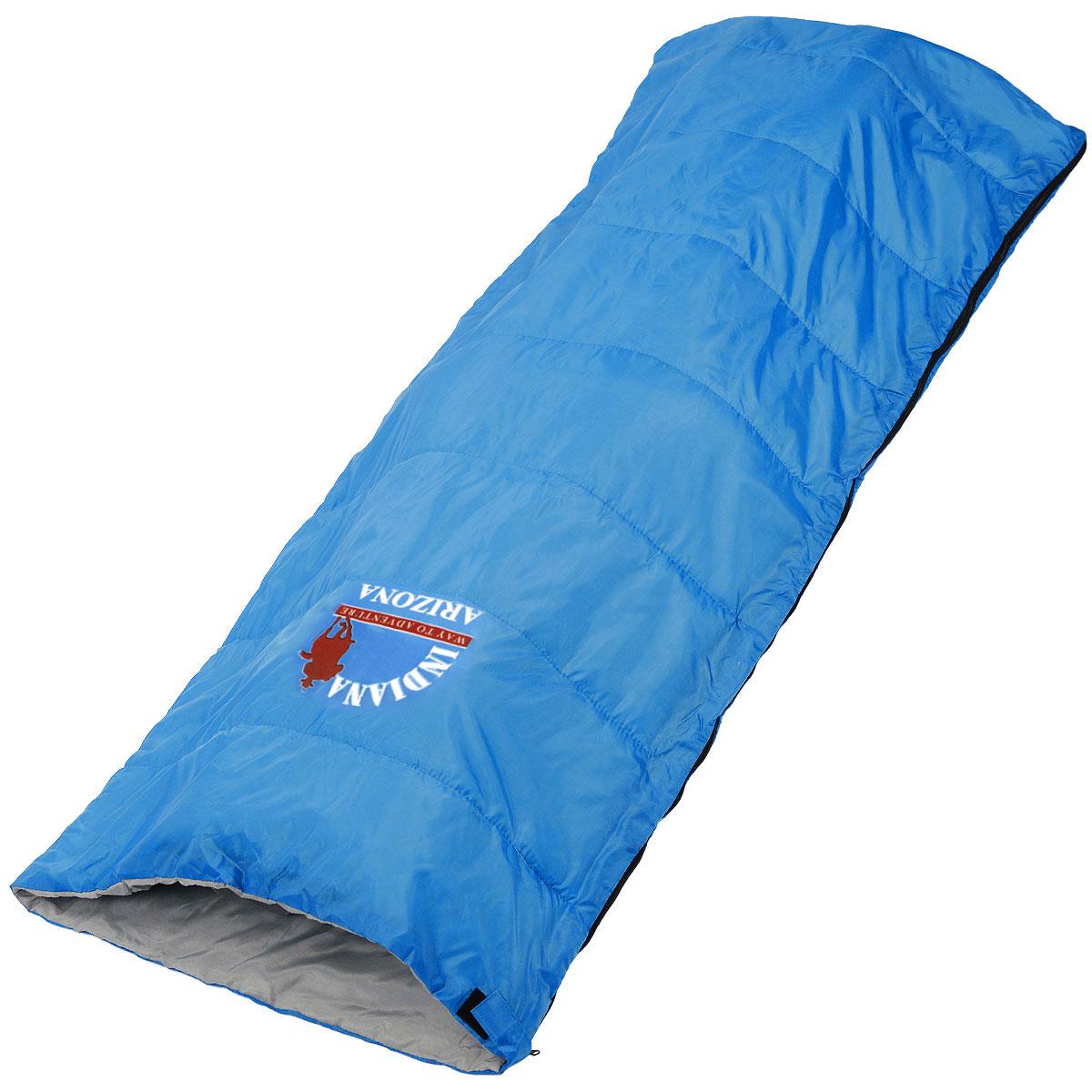 Спальный мешок-одеяло Indiana Arizona, 195 см х 85 см спальный мешок indiana maxfort plus правая молния цвет красный черный синий 195 х 35 х 90 см