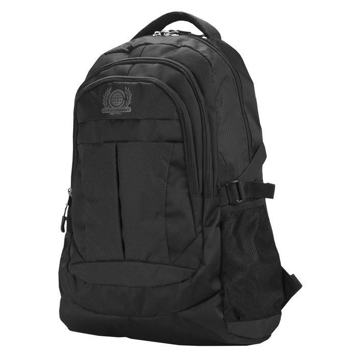 Continent BP-001, Black рюкзак для ноутбука 15,6