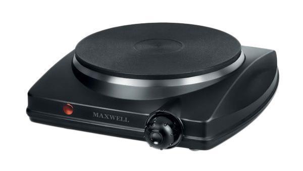Настольная плита Maxwell MW-1902(BK) электрическая