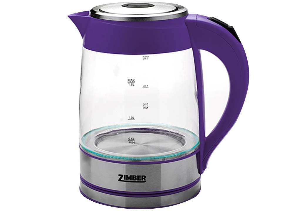 Электрический чайник Zimber ZM-10820 эл чайник 1 2л 1000вт керамика zm 1217593