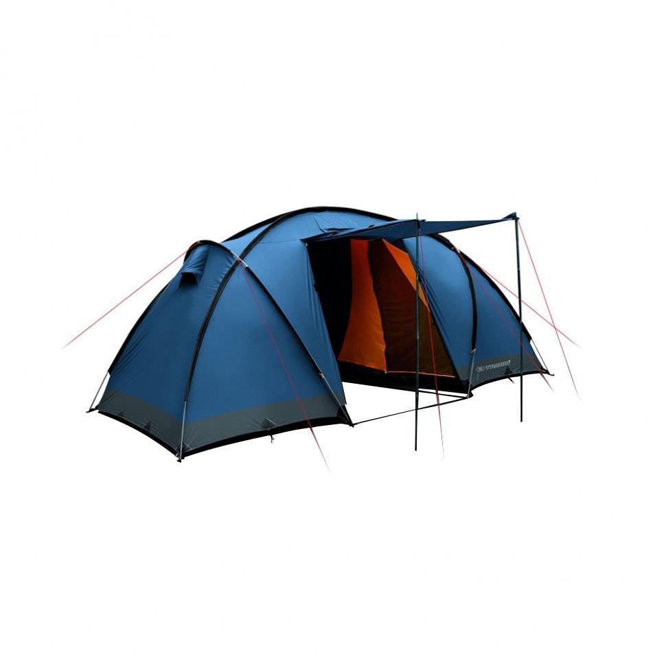 Палатка четырехместная Trimm COMFORT II 4, цвет: синий