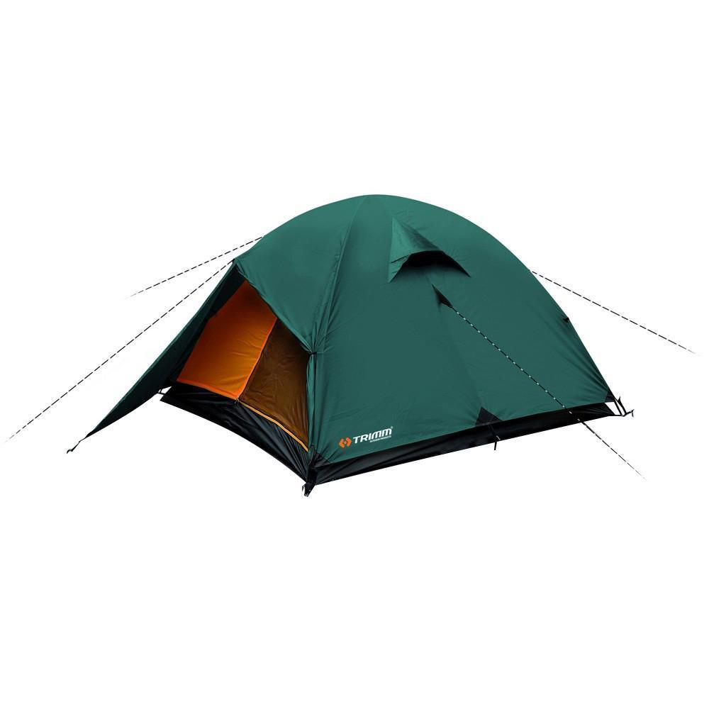 где купить Палатка трехместная Trimm OHIO 2, цвет: зеленый дешево
