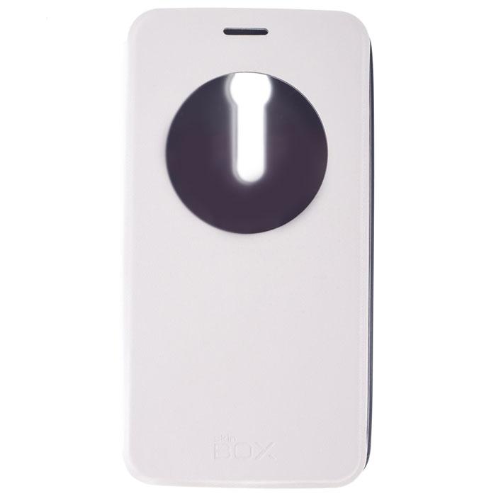 Skinbox Lux AW чехол для Asus ZenFone 2 (ZE551ML/ZE550ML), White skinbox 4people чехол для asus zenfone 2 ze551ml ze550ml